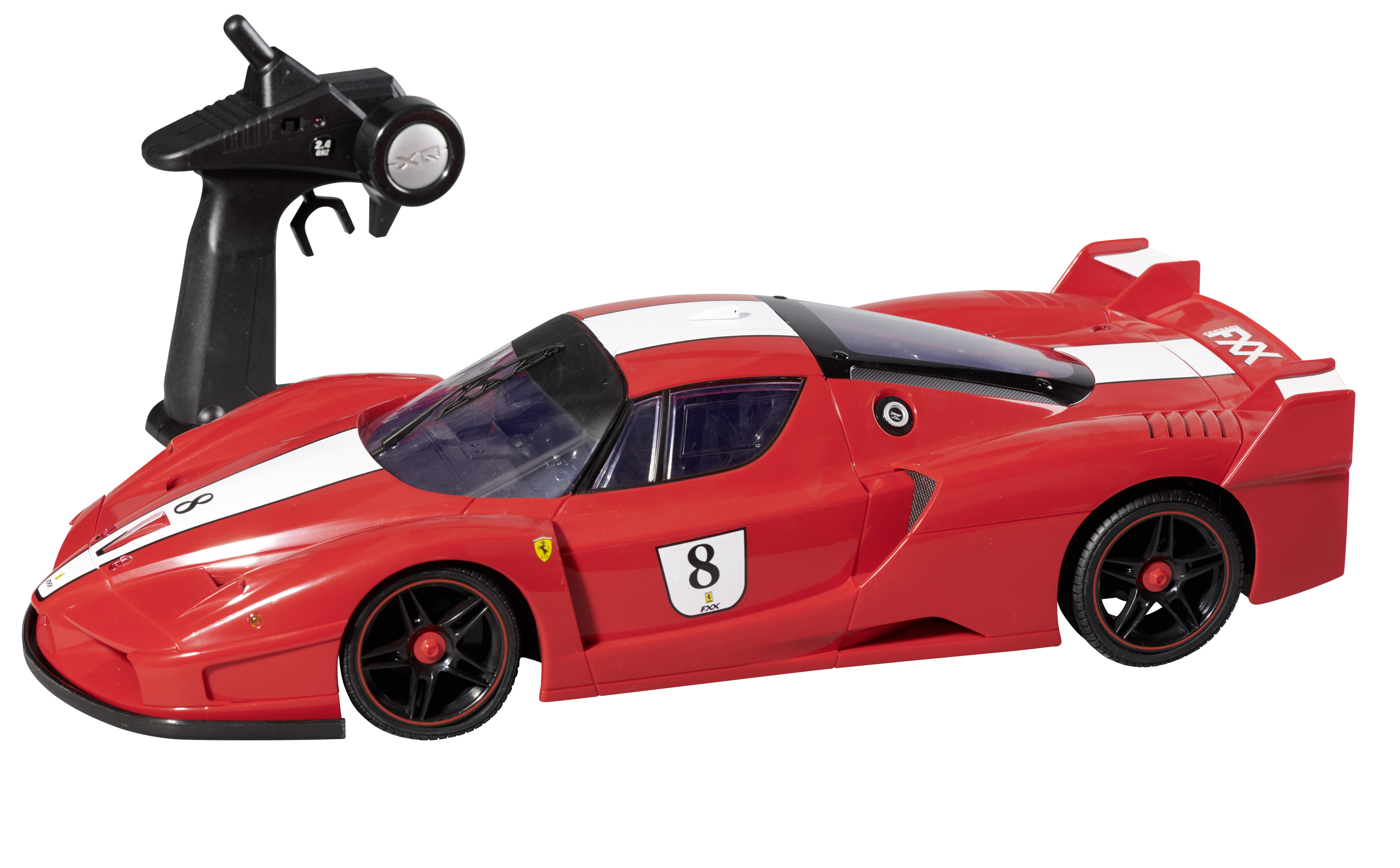 Xq Rouge Pas Ferrari Fxx Multifonctions Racing Radiocommandée wOX8n0Pk