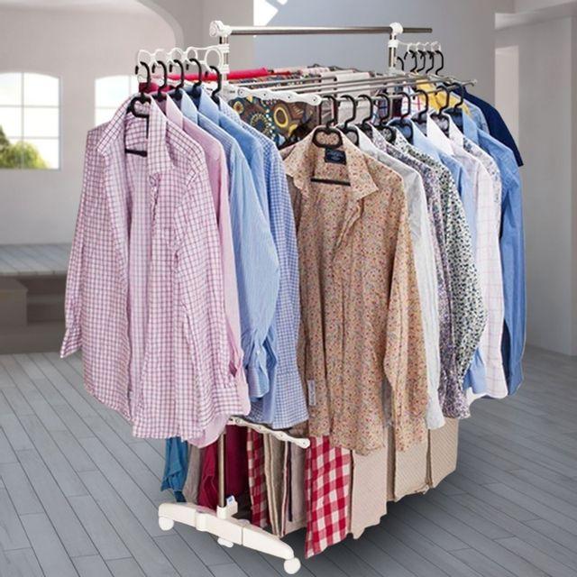 idmarket s choir linge tendoir linge tr s grande capacit pas cher achat vente. Black Bedroom Furniture Sets. Home Design Ideas