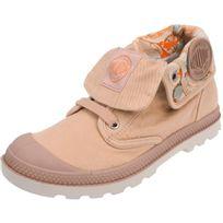 Palladium - Chaussures montantes toile Baggy lp rose imprime Rose 37639