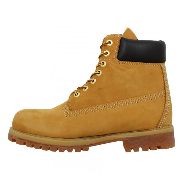 Timberland - 10068 velours Homme-44-Ocre Beige