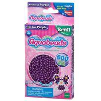 Aquabeads - Recharge de 600 perles violettes
