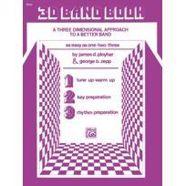 Alfred Music - Partitions Variété, Pop, Rock. Alfred Publishing 3-d Band Book - Oboe Vents