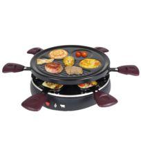KALORIK - appareil à raclette 6 personnes 800w + grill + crêpière - rac1008cs