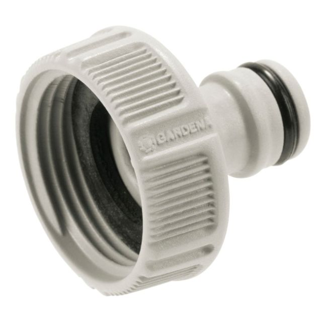 filetage m/âle 3//4 8254-20 Prise deau avec nez de robinet articul/é de GARDENA/: point de pr/él/èvement deau hors sol pour la tuyauterie ou le syst/ème de gicleurs aquastop fixation variable