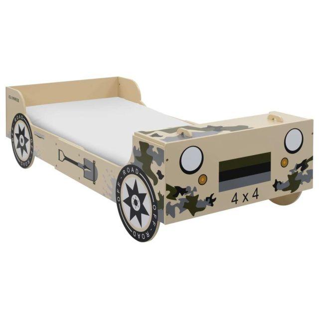 Splendide Mobilier pour bébés & tout-petits selection Dakar Lit tout-terrain pour enfants 90 x 200 cm Camouflage