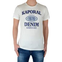 Kaporal 5 - Tee Shirt Kaporal Enfant Rules Off White
