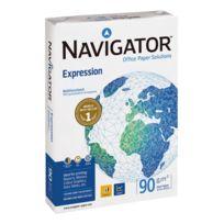 Navigator - Ramette papier satiné Expression A4 90 gr - 500 feuilles - blanc