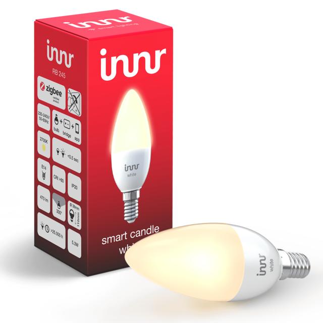 INNR - Ampoule connectée E14 - ZigBee 3.0 - Blanc chaud