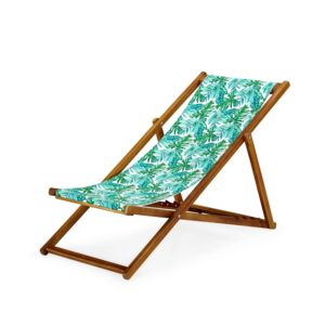 alin a tropicale chilienne chaise longue de jardin motifs tropicaux for t pas cher achat. Black Bedroom Furniture Sets. Home Design Ideas