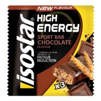 Isostar - Pack barres High Energy chocolat 3 x 35 g