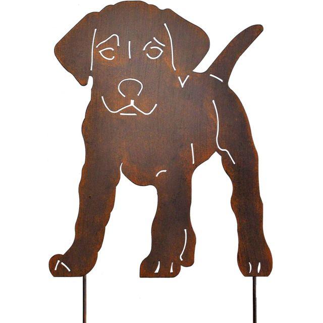 LA GRANDE PRAIRIE Silhouette chien sur pique