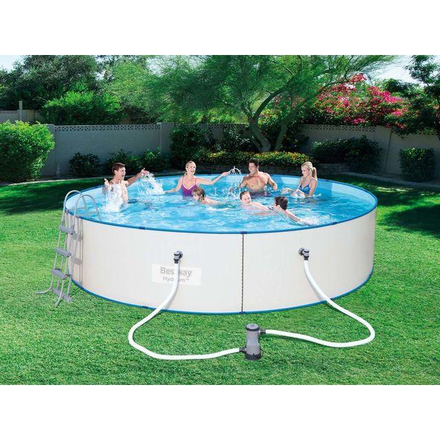 piscine acier ronde bestway. Black Bedroom Furniture Sets. Home Design Ideas