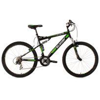 Ks Cycling - Vtt tout suspendu 26'' Slyder noir Tc 51 cm