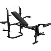 Autre - Banc de musculations abdominaux haltères sport fitness musculation compact et complet 0701079