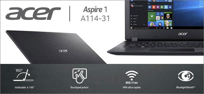 Acer Aspire 1 A114. La nouvelle gamme d ordinateurs portables ... 45d5578e5efd