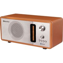 ROADSTAR - Radio Vintage design bois - Bluetooth