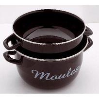 Baumalu - marmite à moules 24 cm noire - 312838