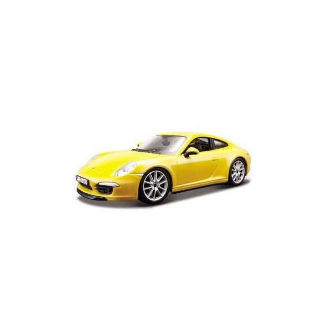 bburago porsche 911 carrera jaune 1 24 pas cher achat vente voitures rueducommerce. Black Bedroom Furniture Sets. Home Design Ideas