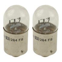 Lightec - 2 lampes de signalisation R10W 12V 10W