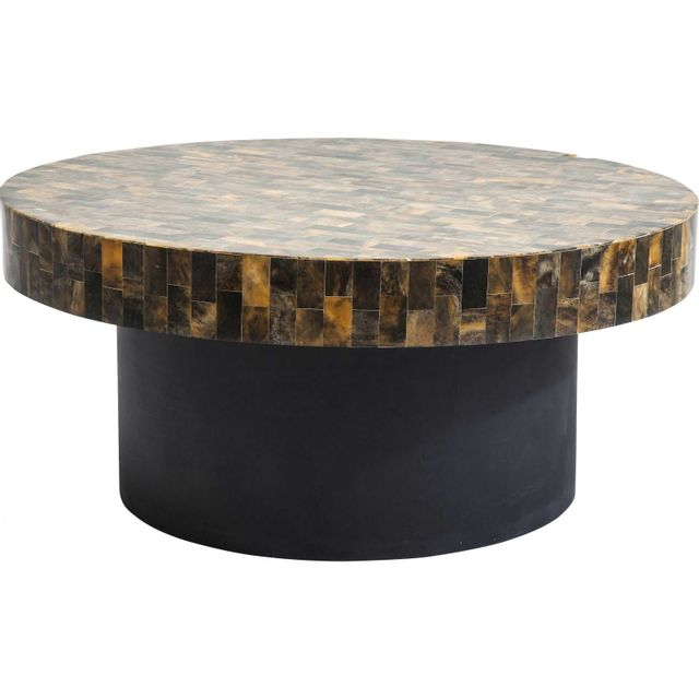 Karedesign Table basse ronde Africano Kare Design
