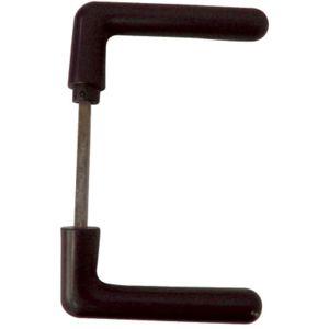 vachette poignee de porte pour serrure de securitea poser en applique 3 points r f 88 2. Black Bedroom Furniture Sets. Home Design Ideas