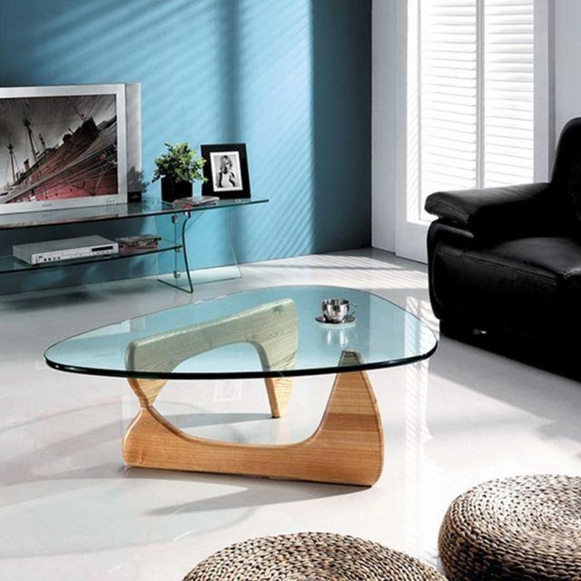 Basse Design Table Meubler Boomerang Verre Cher En Pas Achat sQthrd