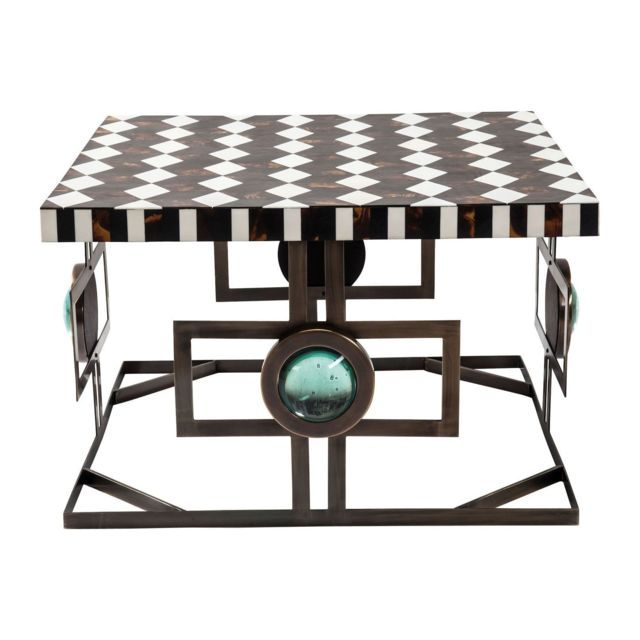 Karedesign Table Basse Carrée Musivo Square 73x73 cm Kare Design