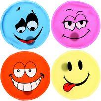 Promobo - Set Lot 4 Mini Bouillotte Chaufferette Main Design Fun Forme Smiley