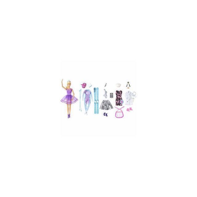 Calendrier Avent Barbie.Mattel Calendrier De L Avent Barbie Pas Cher Achat