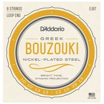 D'ADDARIO - Ej97 - Jeu de cordes bouzouki grec