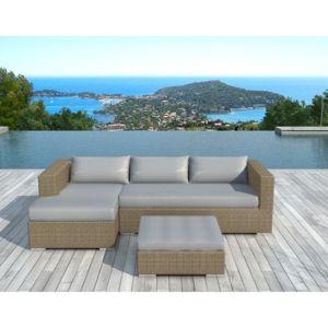 soldes paris prix salon de jardin en r sine tress e valentino beige pas cher achat vente. Black Bedroom Furniture Sets. Home Design Ideas