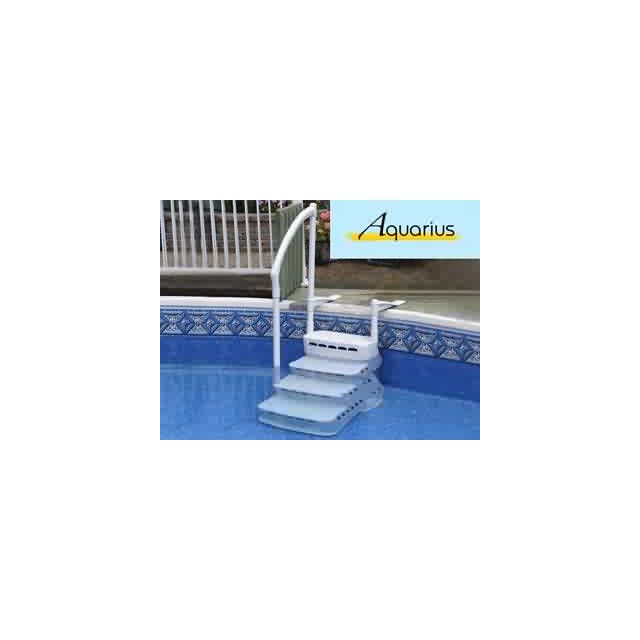 innovaplas vigipiscine escalier int rieur escalio aquarius pvc 4 marches avec main courante. Black Bedroom Furniture Sets. Home Design Ideas