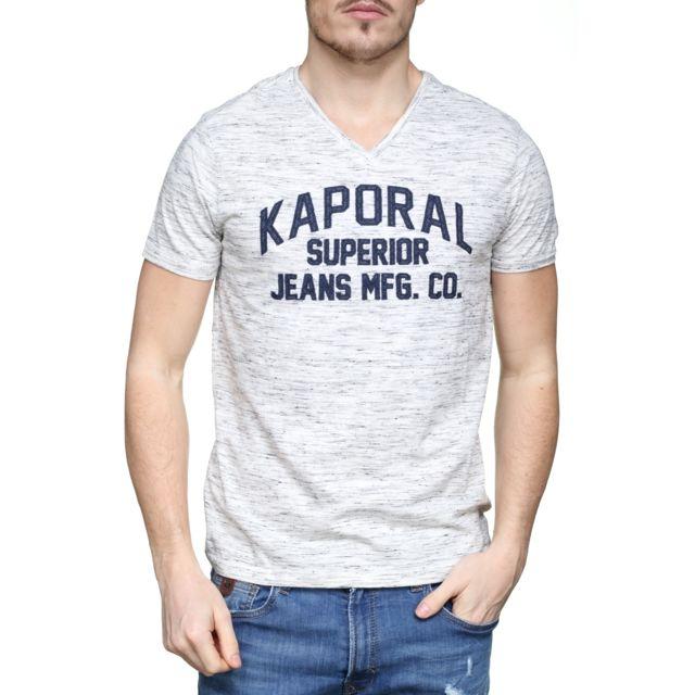 Achat shirt homme cher Kaporal Cloud Tee 5 Lance Vente pas wUZUXP