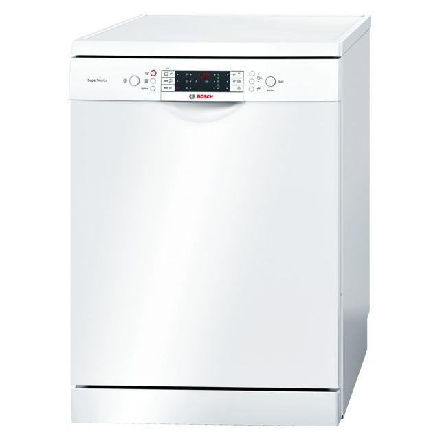 Bosch lave-vaisselle 60cm 13 couverts a+++ zéolite pose-libre blanc - sms69n72eu
