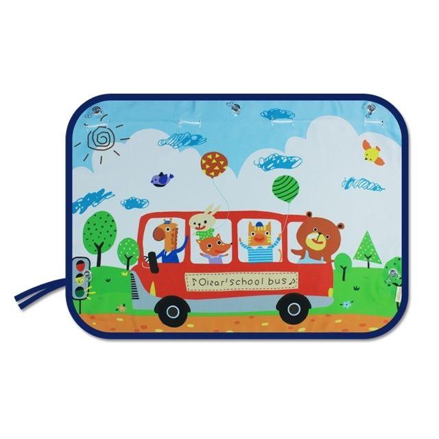 Wewoo Bonne école Bus Modèle Voiture Grande Fenêtre Arrière Pare