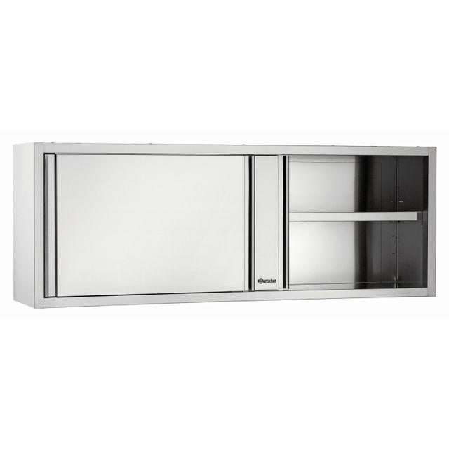 Bartscher Armoire suspendue avec portes coulissantes 400, L1800
