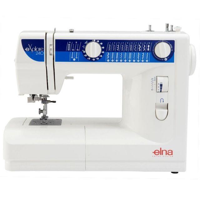 Elna Machine à coudre eXplore 240 - Garantie 2 ans