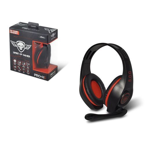 Spirit Of Gamer Pro H5 Red Filaire Pas Cher Achat Vente Micro