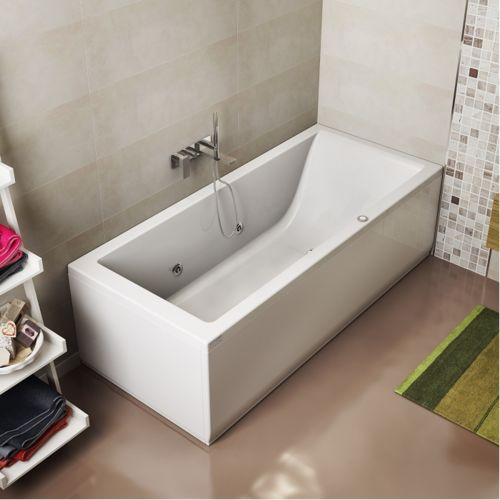 jacuzzi baignoire baln o lagoon 170x70 cm droite 170cm x. Black Bedroom Furniture Sets. Home Design Ideas