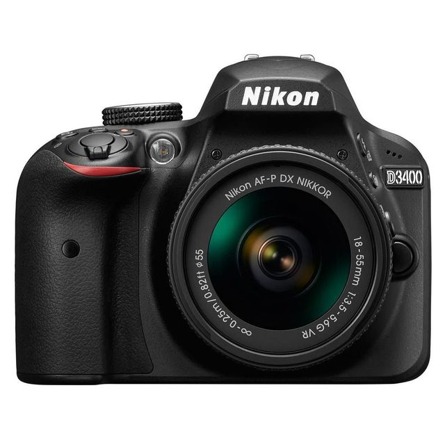 NIKON - appareil photo reflex - d3400 18-55 70-300