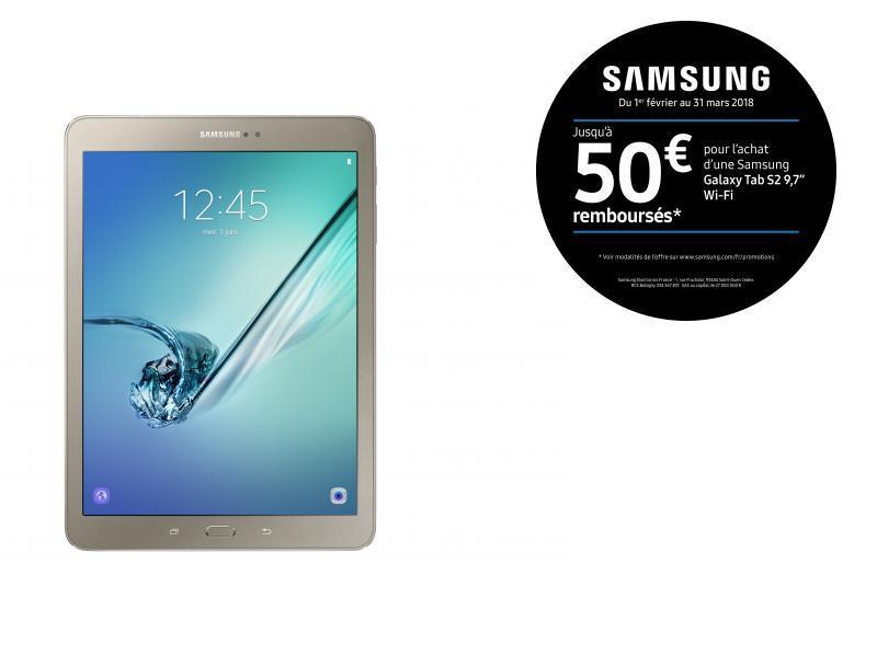 Galaxy Tab S2 - 9,7'' - 32 Go - Or