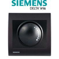 Siemens - Va et Vient Variateur 500W Anthracite Delta Iris + Plaque basic Anthracite