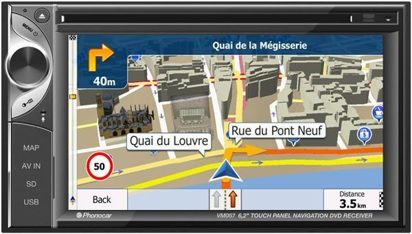 Phonocar Autoradio/VIDEO/GPS Vm057E