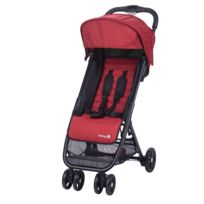 SAFETY 1ST - Poussette ultra compacte TEENY ribbon red chic Naissance à 3 ans