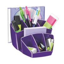 Cep - Multipots à crayons plastique Gloss violet
