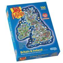 Gibsons Games - Puzzle 150 pièces extra larges - La Grande Bretagne et l'Irlande