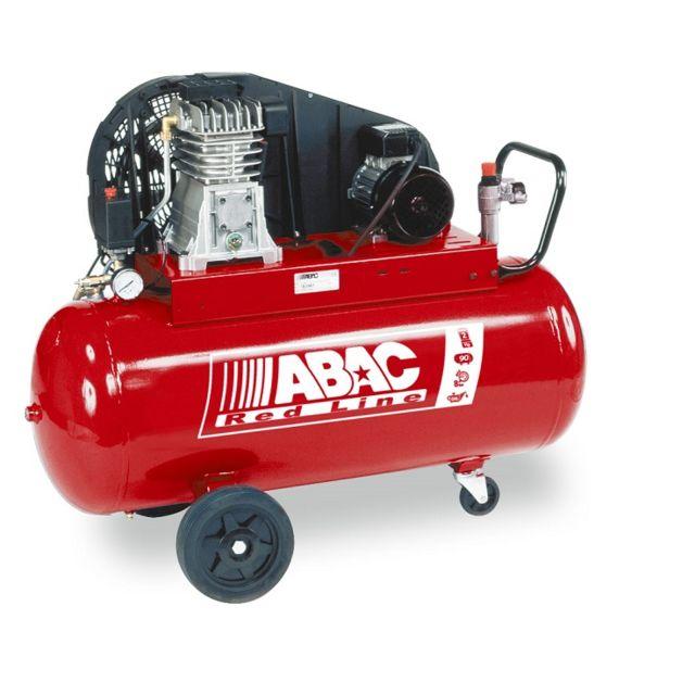 abac red line compresseur d air 2cv 100 litres b2800i 100 cm2 plus pas cher achat. Black Bedroom Furniture Sets. Home Design Ideas
