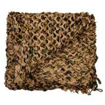 Fosco - Filet De Camouflage Avec Cordes 6 X 3M