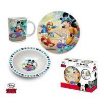 Mickey Mouse - Set Déjeuner 3pcs - Mickey