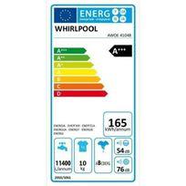 Whirlpool - Awoe41048 - Lave-linge frontal - 10 kg - 1400 tours / min - A+++ - Moteur induction